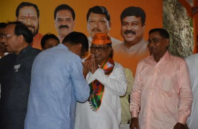 Another jolt to BJD as sitting MP Arjun Charan Sethi joins BJP