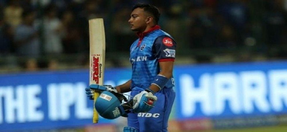 Prithvi Shaw joined Suresh Raina and Virat Kohli as the other players to have been dismissed or remained unbeaten on 99. (Image credit: Twitter)