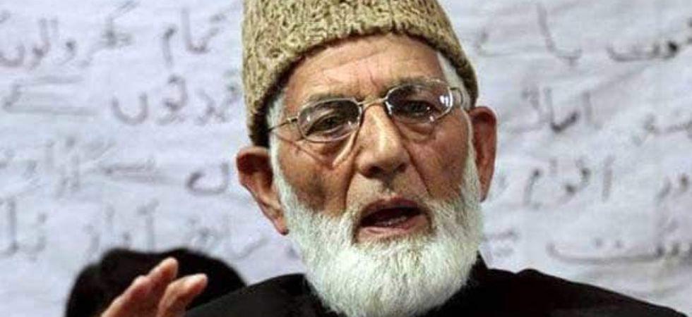 Crackdown against Kashmir separatists: I-T sleuths seized Syed Ali Shah Geelani's Malviya Nagar flat