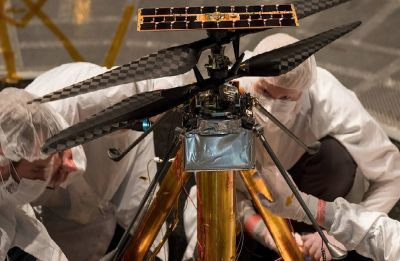 NASA's Mars helicopter set to fly over red planet in 2020, completes flight tests