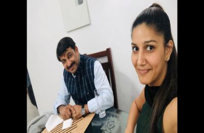 Sapna Chaudhary meets Manoj Tiwari again, likely to campaign for BJP