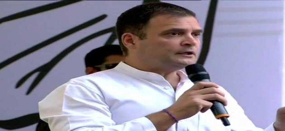 Congress president Rahul Gandhi (ANI Photo)