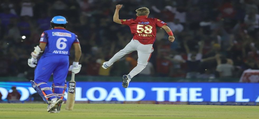 Sam Curran became the first player to take a hat-trick in the 2019 Indian Premier League. (Image credit: Twitter)