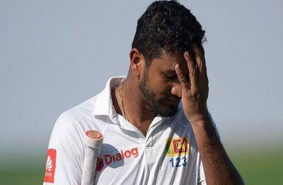 Sri Lanka captain Dimuth Karunaratne apologises for 'unbecoming' behaviour
