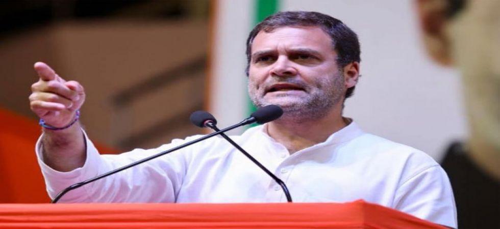 Congress president Rahul Gandhi (File Photo)
