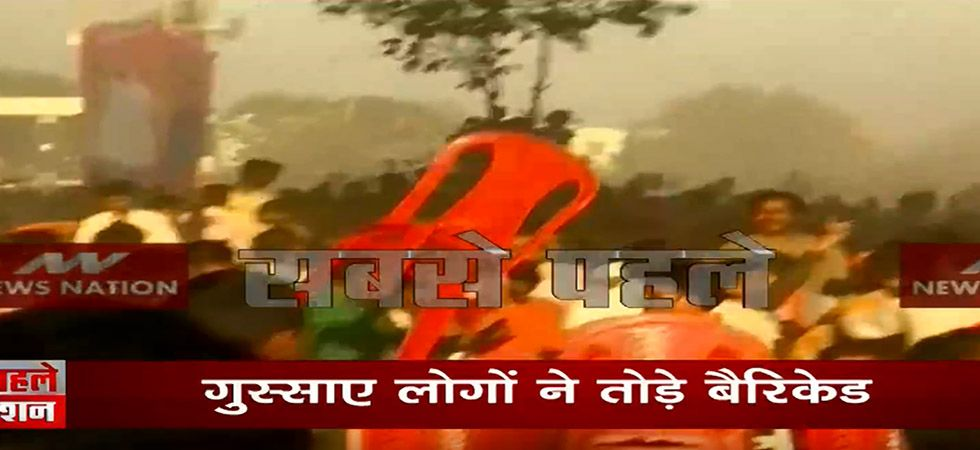 VIDEO   Chaos at PM Modi rally in Bihar's Gaya, angry crowd hurl chairs on each other
