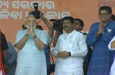 BJD govt didn't cooperate, chowkidar transformed Odisha: PM Modi
