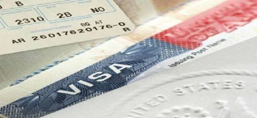 The H-1B visa programme allows foreign workers to obtain temporary authorisation to live and work for employers in the United States. (File photo)