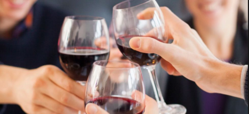 Drinking a bottle wine is equivalent to smoking 10 cigarettes: Study