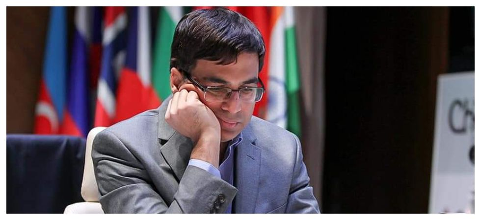 Viswanathan Anand moved to fourth spot in the Shamkir Chess tournament after beating Shakhriyar Mamedyarov, the two-time winner of the tournament. (Image credit: Twitter)