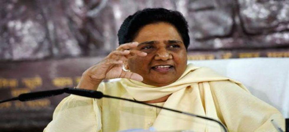 Congress election manifesto appears to be a showoff, said Mayawati. (File Photo:)