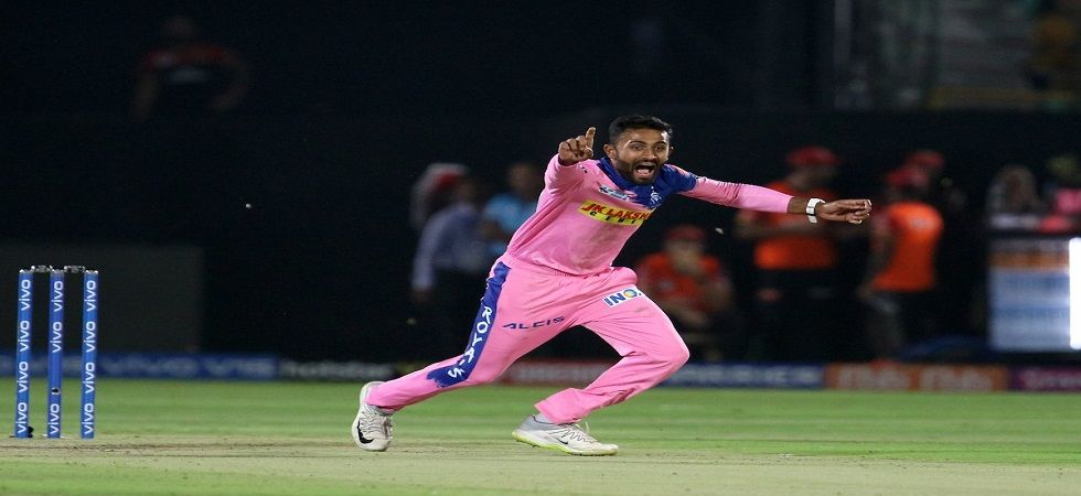Shreyas Gopal scalped three wickets, including Virat Kohli and AB de Villiers as his spell gave Rajasthan Royals a splendid win over Royal Challengers Bangalore. (Image Credit: Twitter)