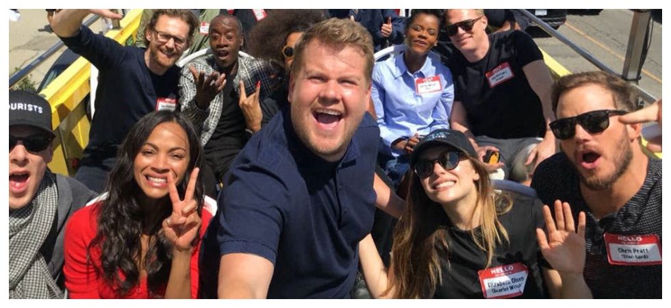 James Corden says Chubby people don't fall in love in films (Photo: Twitter)