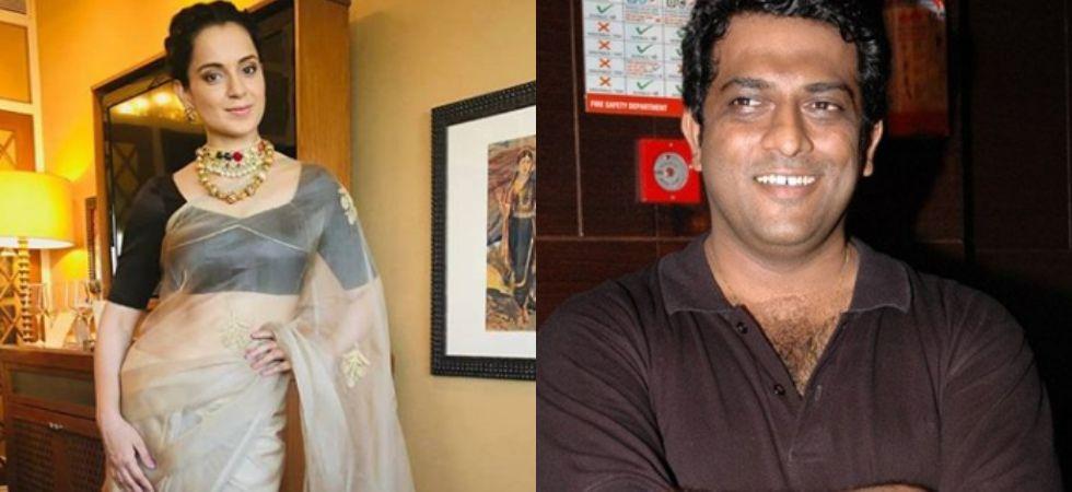 Kangana Ranaut and Anurag Basu./ Image: Instagram