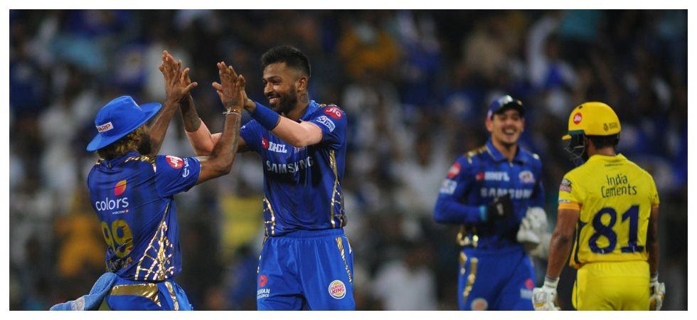 Hardik Pandya's all-round show helped Mumbai Indians beat Chennai Super Kings in IPL 2019 by 37 runs at the Wankhede stadium. (Image credit: Twitter)