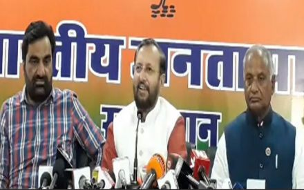 Hanuman Beniwal's RLP joins hands with BJP in Rajasthan, to