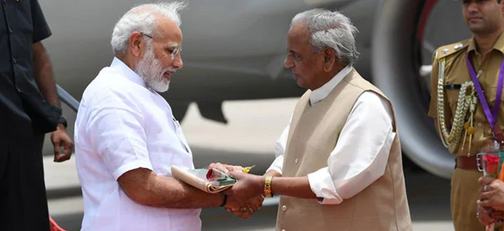 Rajasthan Governor Kalyan Singh and Prime Minister Narendra Modi (File Photo)