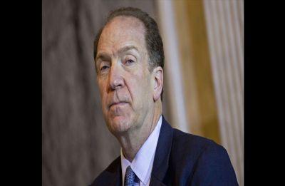 US Treasury official David Malpass succeeds succeeds Jim Yong Kim as World Bank President