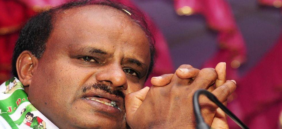 Karnataka Chief Minister HD Kumaraswamy (PTI Photo)