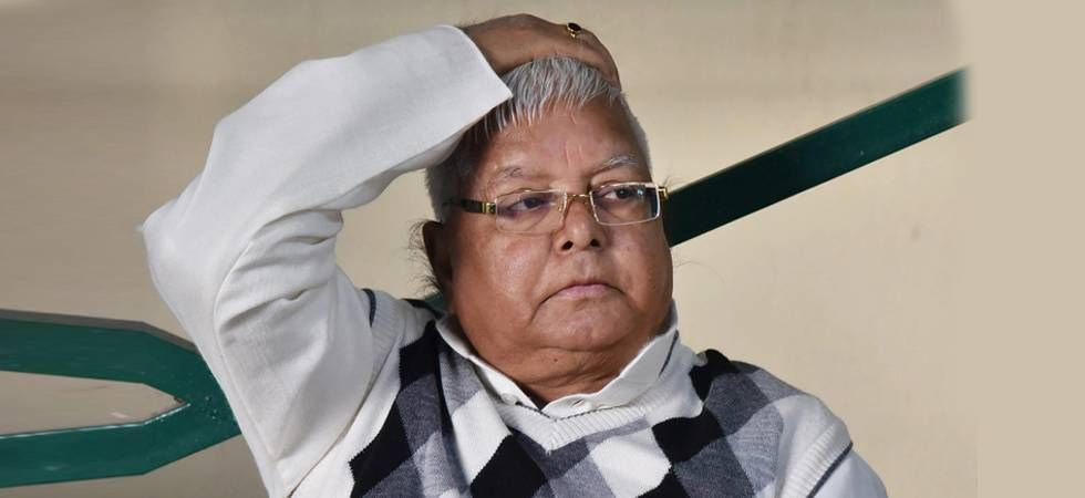 The ailing RJD chief has sought bail in three cases related to the multi-crore fodder scam, in which he has been convicted. (File photo)