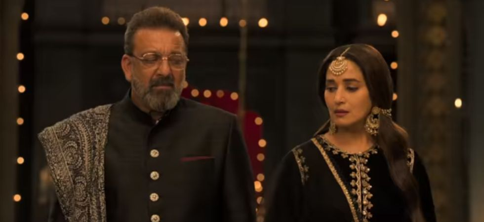 Sanjay Dutt and Madhuri Dixit will be seen sharing screen space in Kalank.