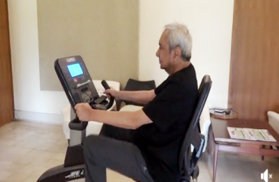 WATCH: Naveen Patnaik's exercise regime to stay fit during hectic election season