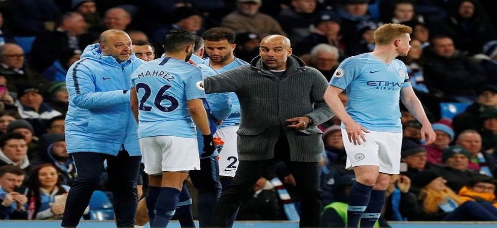 Pep Guardiola will be gunning to push Manchester City towards an unprecedented quadruple ahead of the FA Cup clash against Brighton in the semi-final. (Image credit: Twitter)