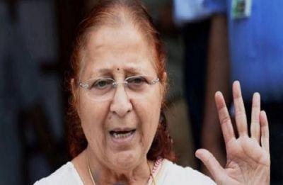 Sumitra Mahajan announces she will not contest Lok Sabha elections