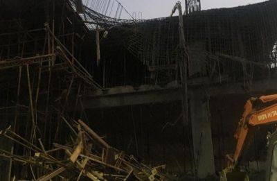 Two dead, four injured after part of under-construction building collapses in Bengaluru's Yeswanthpur