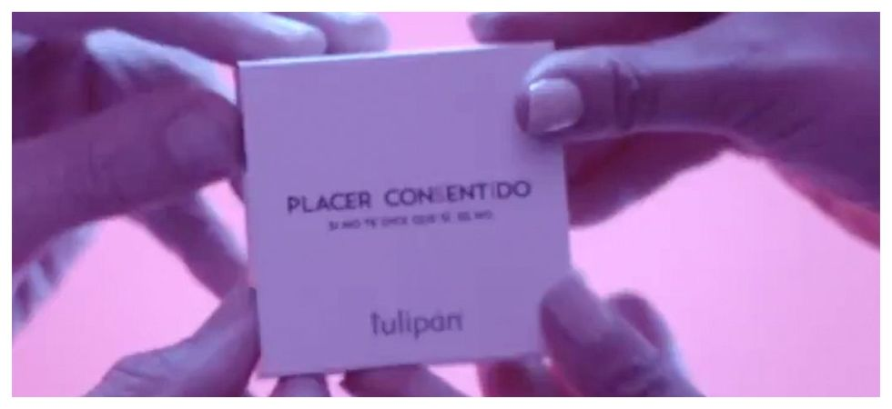Consent condom box requires 2 people to open (Photo: Twitter)