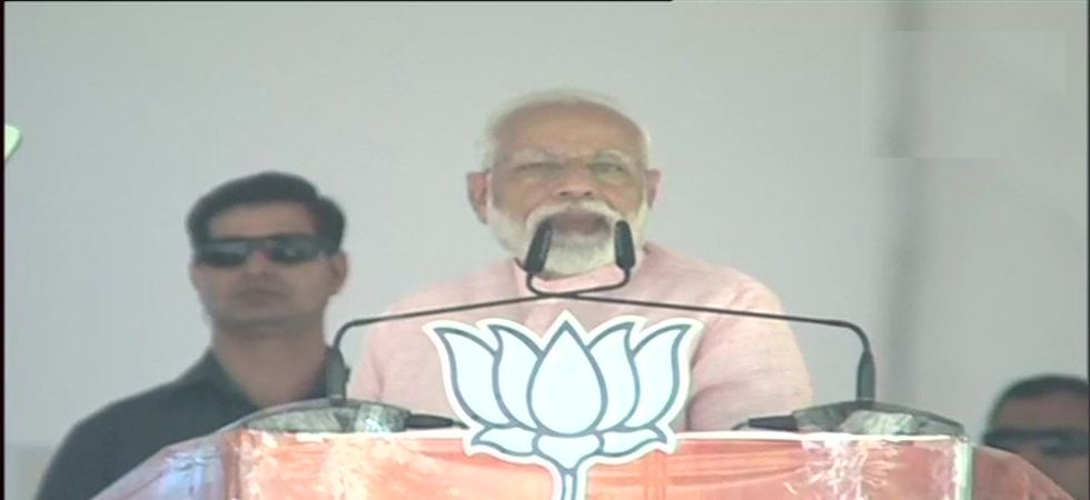 Prime Minister Narendra Modi in Dehradun