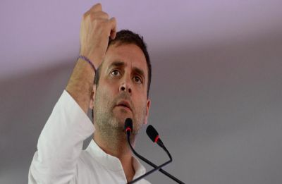 Rahul Gandhi says PM Modi took credit for Balakot airstrike, dares him to hold rifle for five minutes