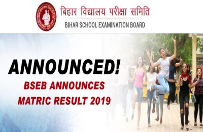 Bihar Board Result 2019 LIVE Now: With 97.2 per cent, Sawan Raj Bharti tops BSEB Matric exam