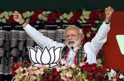 'Like a sinking Titanic ship': PM Modi intensifies poll fever with all-out attack on Congress