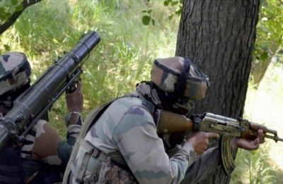 Two terrorists killed in encounter with security forces in Shopian's Imam Sahib area