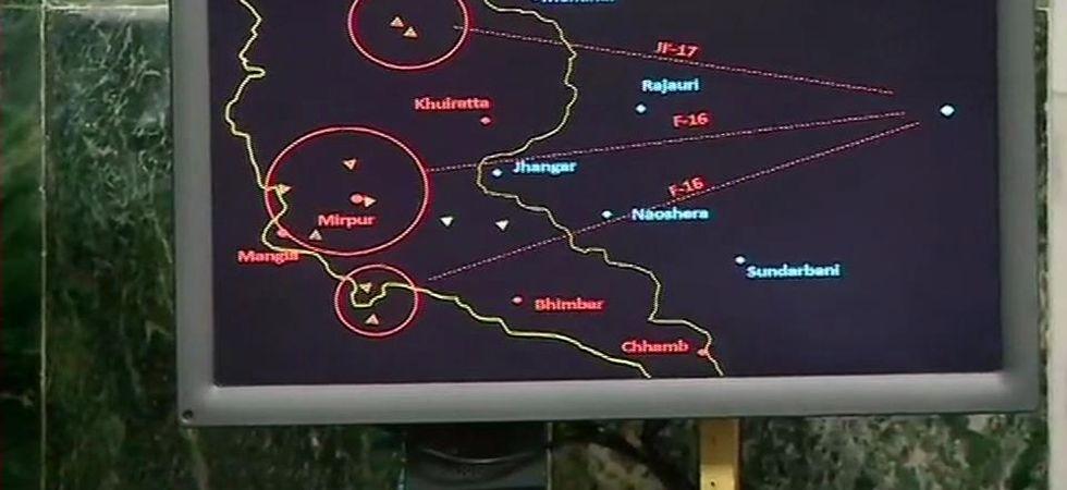 IAF releases radar image of MIG 21 Bison shooting down Pakistan's F-16 aircraft