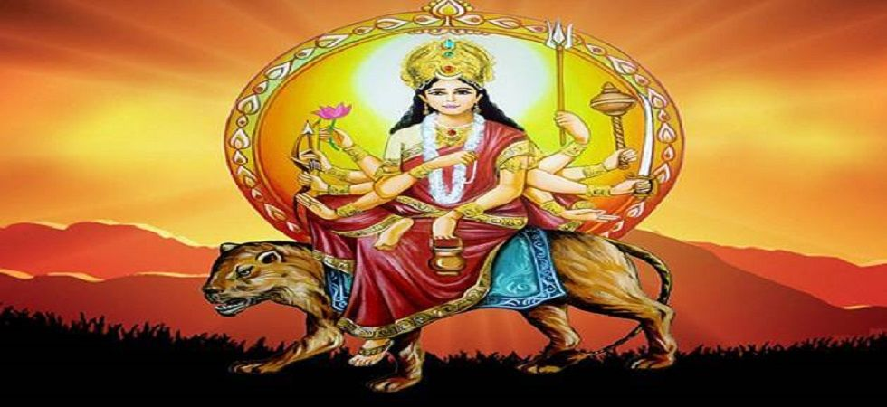 People worship Maa Chandraghanta to keep all evil energies away from their lives. (File photo)