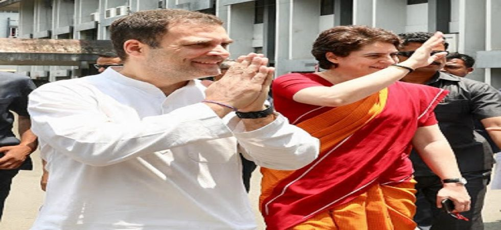 Earlier on April 4, both Rahul and Priyanka took out a massive roadshow in Kerala's Wayanad. (File photo)