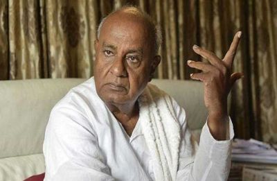 Deve Gowda, chief of Congress ally JD-S, bats for Chandrababu Naidu as PM
