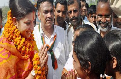 Union Minister Smriti Irani to file nomination from Amethi on Thursday