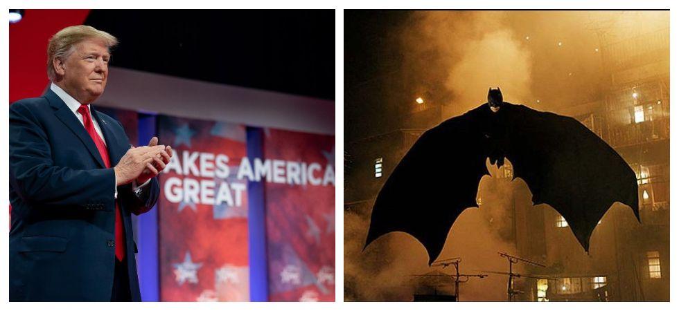 Twitter takes down Trump 'Dark Knight Rises' campaign clip (Photo: Instagram)