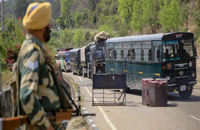 MHA defends ban on Jammu-Srinagar highway, protests continue