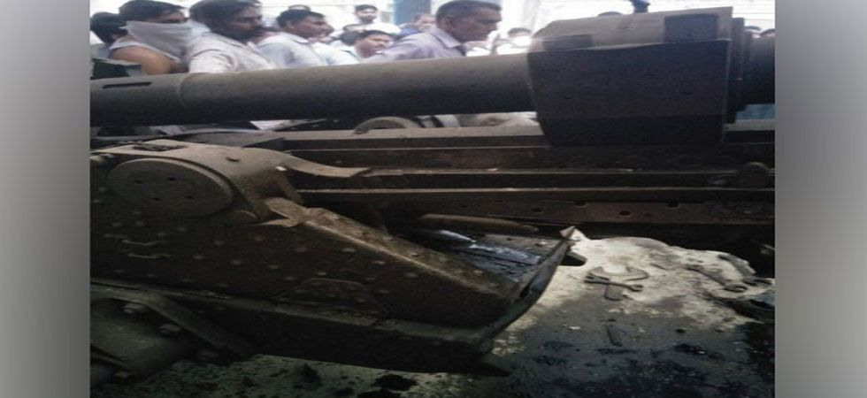 Light field gun (LFG) was being tested when a nitrogen cylinder exploded. (File Photo: ANI)