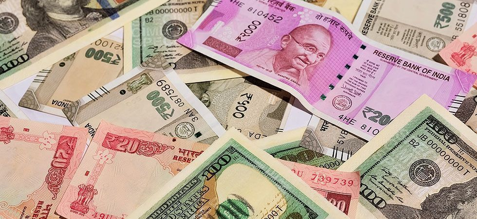 The rupee appreciated by 21 paise to 69.09 against the US dollar in opening trade on Wednesday