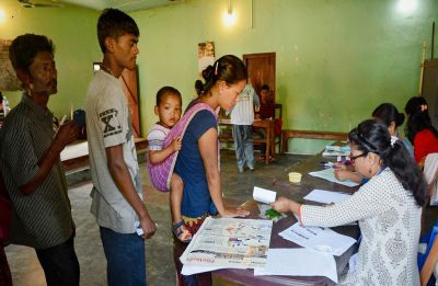 Amid clashes, Meghalaya records 67 per cent voter turnout in two Lok Sabha seats