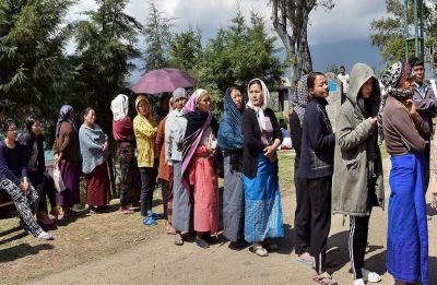 78.76 voter turnout in Nagaland Lok Sabha seat