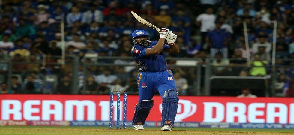 Kieron Pollard blasted 83 off 31 balls and Mumbai Indians secured a brilliant three-wicket win off the last ball against Kings XI Punjab. (Image credit: Twitter)