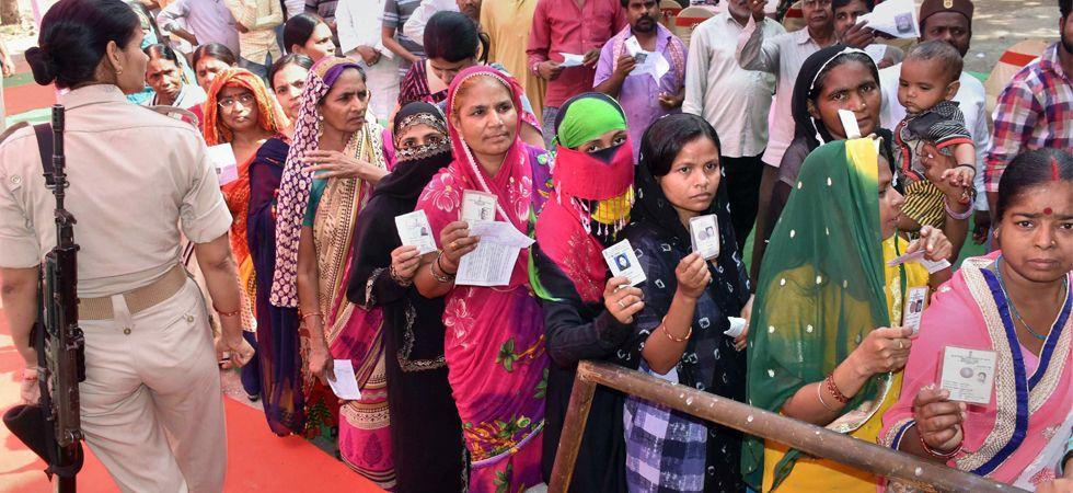 West Bengal registered a record voter turnout of 81 per cent (PTI image)