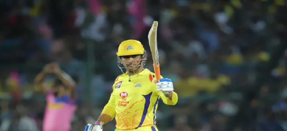 Rajasthan Royals are in seventh spot just ahead of Royal Challengers Bangalore ahead of the clash against Chennai Super Kings. (Image credit: Twitter)