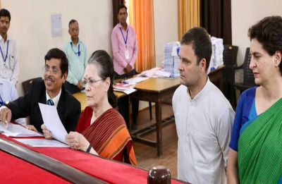 Don't forget 2004, Sonia Gandhi reminds BJP as she files nomination from Rae Bareli